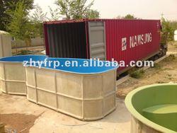 fiberglass trough
