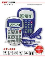 plastic pocket calculator LT-823
