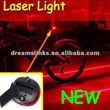 2012 New Bike Bicycle Laser Beam Rear Tail Light ( 3 LED + 2 Laser )