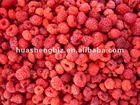 IQF frozen raspberries
