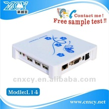 High compatibility fanless Win CE thin client with wifi NP-X300