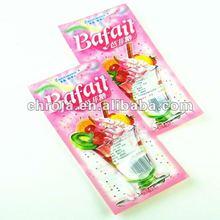 Food Safe vacuum Custom Shape Adorable Plastic Dried Fruit Package Bag