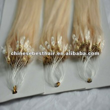 Manufacturer of 100% human hair Pre-bonded Ring-X hair extensions
