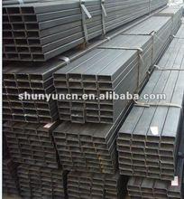 Hollow section black iron carbon steel square tube size(Q235B,ASTM A36,SS400,S235JR,Q345B,S335JR)