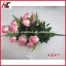 2012 wedding rose fabric flower