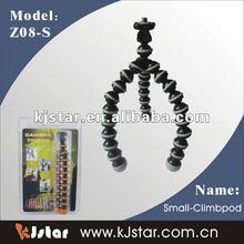 mini plastic flexible gorillapod gripping camera tripod (Z08-S)