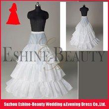 Hot sale white layered organza bridal petticoat