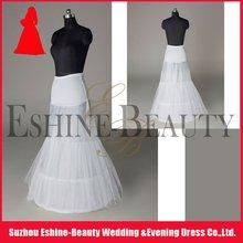 Hot sale white layered long bridal petticoat
