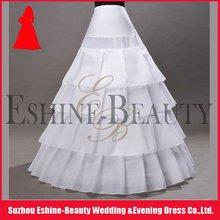 Hot sale white taffeta layered petticoat