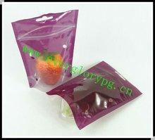 2012 Sales Pure Printed Plastic Ziplock Poly Bag