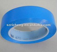 3M Blue Warning Tape Rubber Adhesive Anti Slip Tapes 3M 471
