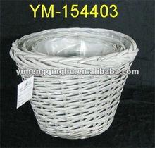 wicker baskets for plants