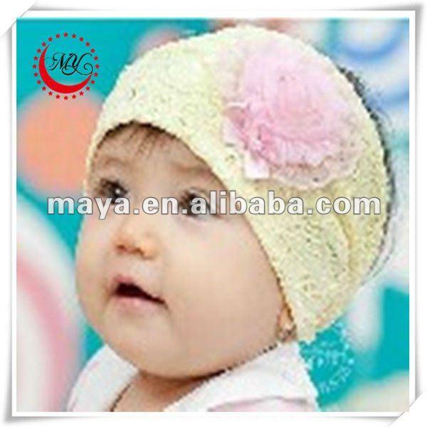 Encantador caliente de la venta del bebé de headwraps adornos para .