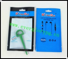 2012 HOT Sales Electric Earphone Retail Plastic Bags
