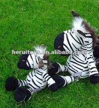 zebra plush stuffed animal