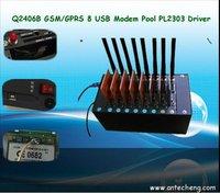 IMEI change Q2406B Modem Pool 8 Ports USB Interface PL2303 Driver Lowest Price
