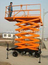 towable lift/trailer scissor lift platform