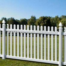 Cheap PVC Fence Plastic Garden Fencing Panels