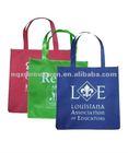 cheap promotional wholesale reusable shopping bags nonwoven shopping bag