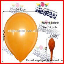 Yellow Birthday balloon picture ! Round balloons