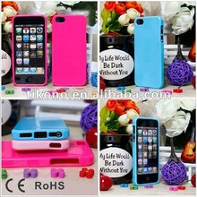 2012 New bumper tpu case for iphone5
