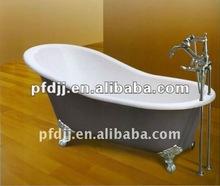 Indoor Simple Classical Acrylic Bathtub