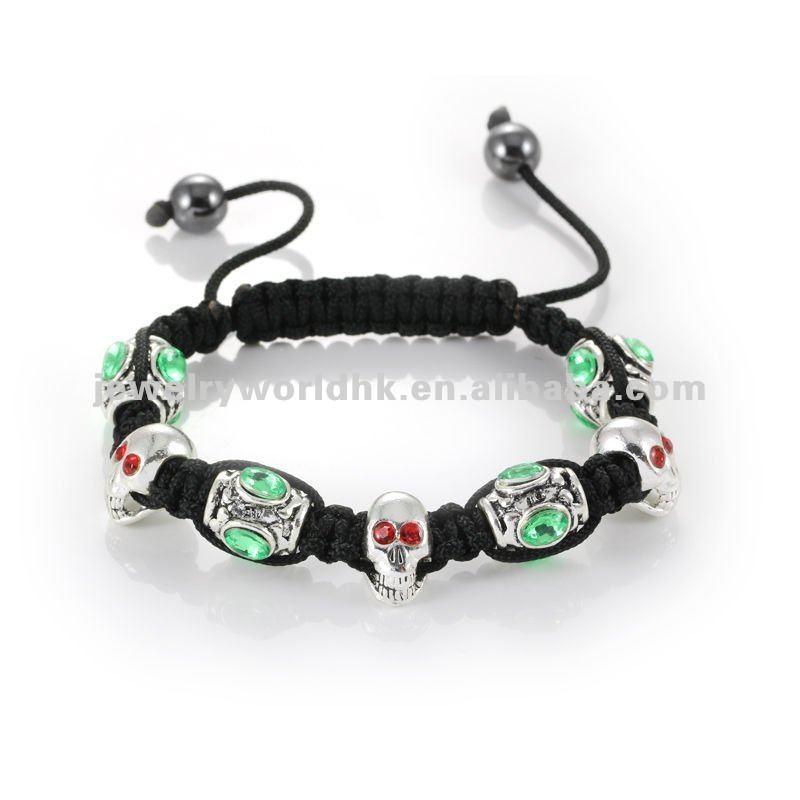 Skull Bracelets Wholesale Skull Charm Bracelet