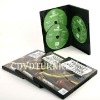 disc replicating with three disc dvd case, industrial cd dvd duplicator