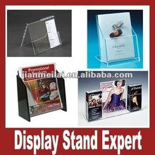 Clear Acrylic Pocket Brochure Holder