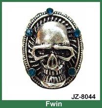 hot selling fashionable design 2012 men skull rings