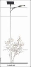 Cast aluminum street light pole