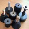 Industrial rubber to metal bonding parts