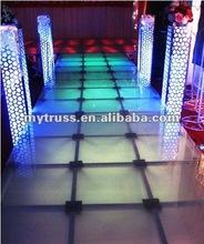 Alumiunm frame wedding mobile stage