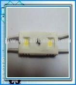 2012 Hot Sales! 2PCS LED Module SMD5050 Waterproof Injection Module SMD-2-22 WARM WHITE CE&ROHS DC12 Long Lifespan