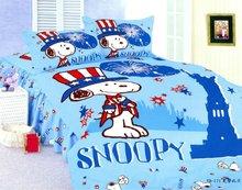 cartoon printed bed comforter for children