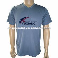 Wholesale men sport tshirt,Breathable comfortable men tshirt,OEM logo printing v-neck cheap mens t-shirt