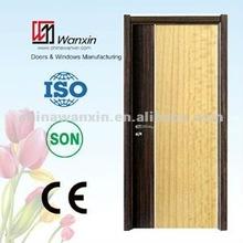 2012 new design Laminated Door with Aluminum Line(WX-LWA-106)