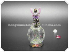 S053a Exquisite 10ML Newest Hot-selling transparent Angel Crystal Perfume Bottle for LOVE gifts