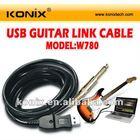 True plug & play 16 MIDI input / output channels usb guitar interface
