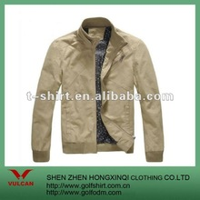 Fitted Size Men Khaki Color Jackets 2012