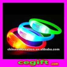 Customized flashing bracelet