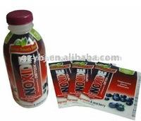 bottle pvc shrink label