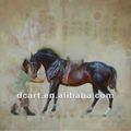 ปรับภาพวาดศิลปะจีนของม้า