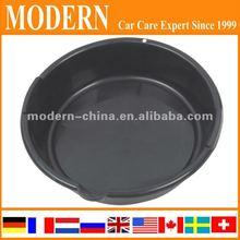 6L Plastic circle Oil drain pan
