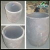 Graphite crucible for melting gold, copper, aluminum, iron ect