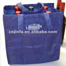 Best selling recyclable non woven wine bag