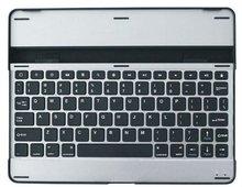 Aluminum bluetooth keyboard dock cover case for iPad 2 iPad 3 P-iPAD3HCKBSO005