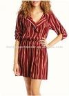 Women's striped casual dress