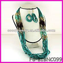 China spike rhinesone bib necklace jewelry tassels cord jewelry