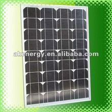 60w mono high efficiency import solar panels